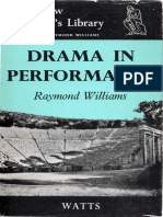 Raymond Williams - Drama in Performance-C. A. Watts (1968)