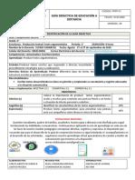 Ecabarcas Comprension lectora 5grado. lista
