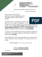 NOTA DE RESIDENCIA 2018-2019