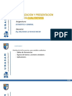 SESIÓN 03 - ORGANIZACIÓN Y PRESENTACIÓN DE DATOS CUALITATIVOS