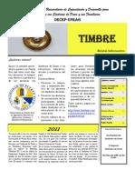 Revista Timbre Enero 2011 - Sindrome Down UPR Aguadilla