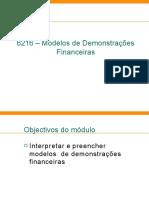 6216-modelosdedemonstraesfinanceiras - apresentação