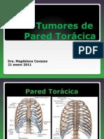 Viernes Tumores de Pared Toraxica
