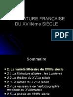 LITTÉRATURE FRANÇAISE DU XVIIIème SIÈCLE,LILIMELOH