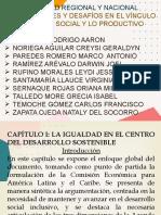 LA IGUALDAD EN EL CENTRO DEL DESARROLLO SOSTENIBLE