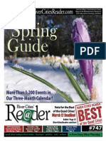 River Cities Reader - Issue #747 - SPRING GUIDE - March 4 2010
