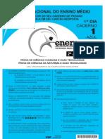 ENEM 2010 - 1º Dia (2ª Aplicação, sem marcação do gabarito)