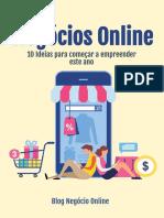 10 ideias de negócios online