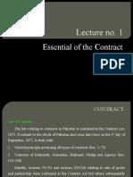 Lecture no. 1