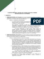 RESUMEN NORMATIVO-PLANES DE REFUERZO Y MEJORA DE LOS RESULTADOS-
