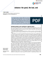 Antimicrobial resistance the good, the bad, and the ugly