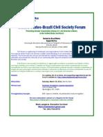 US Brazil Civil Society Summit