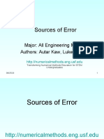 2 SOURCES OF ERRORS
