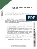 Comisionado de Transparencia de Castilla y León