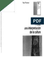 Ricoeur-La interpretación como ejercicio de la sospecha