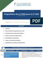 200925 Propositions CGEM Pour LF 2021