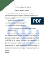 CHAPITRE 2 LA NOTION DE RISQUE DE CHANGE