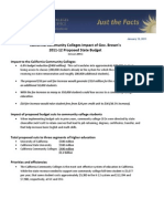 Fact Sheet - Gov. Brown Jan. Budget Proposal for 2011-12 Updated Final 2 (1!12!11)