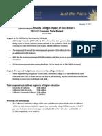 Fact Sheet - Gov. Brown Jan. Budget Proposal for 2011-12 Updated Final 2 (1!12!11)