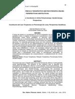 portugues -Constitución del Lazo Terapéutico en Psicoterapia En Línea Perspectivas Gestálticas.pdf