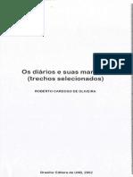 O diário e suas margens (trechos selecionados)