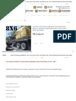 Lona 8,0 x 6,0m Encerado para Caminhão Truck + Ilhoses + 50m de Corda Preta 10mm + 50m Corda 8mm de brinde! - Loneiro Lonas Plasticas