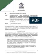 Circular 005 de la PGN sobre fallo de la CIDH