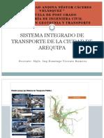8.4 Sistema Integrado de Transporte - Arequipa