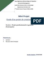 Mini projet Infra