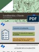 Seleccion preliminar de localizacion de plantas industriales