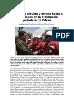Chávez se arruina y atrapa hasta a sus aliados en la diplomacia petrolera de Pdvsa