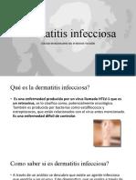 Dermatitis infecciosa