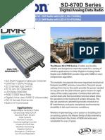 02-Maxon SD-670D Series Spec Sheet