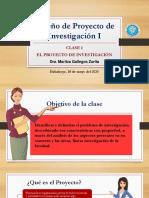 Classe 1_El proyecto de Investigación