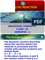 CATALITIC REACTION