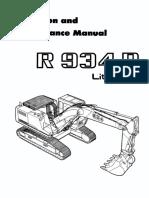 Operation and Maintenance Manual - R934B (EN)