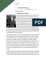 Biografía Elena Caffarena