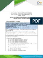 Guia de actividades y rubrica de evaluacion - Unidad 1 - Fase 2 - Identificacion de variables estadisticas.pdf