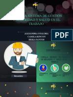 CARTILLA SISTEMA DE GESTION Y SEGURIDAD Y SALUD