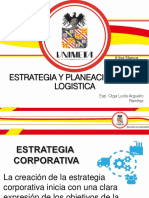 ESTRATEGIA Y PLANEACION  DE LA LOGISTICA