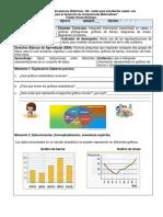 4° y 5° Secuencia Didáctica SD-2 Gráficos Estadísticos -Componente Aleatorio-