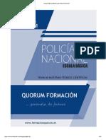 Tema 40 Escala Básica de Policía Nacional