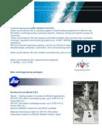 Centrifugal, Metering & Dosing Pump