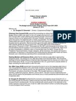 Public Policy Update 1-28-11