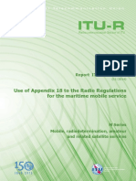 Radio Regulations for the maritime mobile service