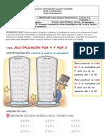 GUIA DE MATEMATICAS 2 TABLAS DEL 4 Y DEL 5