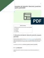 Elementos de relación_ dirección, posición, espacio, gravedad - Eniun