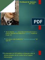 Ferdinand de Saussure PPT