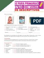 Textos-Descriptivos-para-Quinto-Grado-de-Primaria