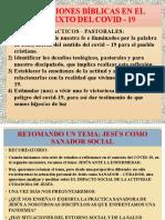 REF - COVID19 - Tema X - XI - Jesus Sanador Social